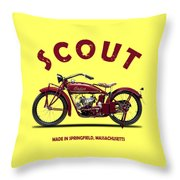 The Scout 1924 Throw Pillow by Mark Rogan
