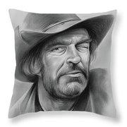 Jack Elam Throw Pillow