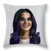 Katy Perry Throw Pillow