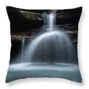 Kings River Falls Throw Pillow