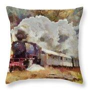 Kylltal Railway  Throw Pillow