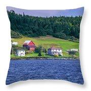 Lahave, Nova Scotia Throw Pillow