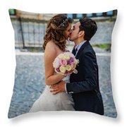 Lake Albano Throw Pillow