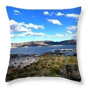 Lake Pleasant Az 16 Throw Pillow