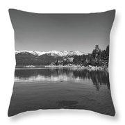 Lake Tahoe Throw Pillow