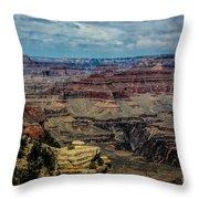 Landscape Grand Canyon  Throw Pillow