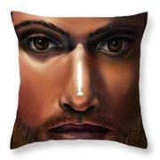 Lord Jesus Throw Pillow