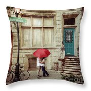 Love On The Square Throw Pillow