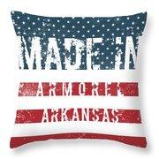 Made In Armorel, Arkansas Throw Pillow