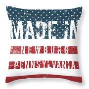 Made In Newburg, Pennsylvania Throw Pillow