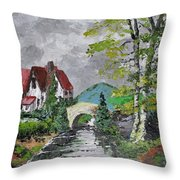 Melody Of A Dream Throw Pillow