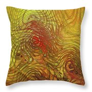 My Colorful World Throw Pillow
