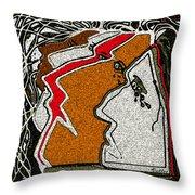 Natives Throw Pillow