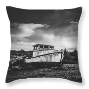 Old Edith Throw Pillow