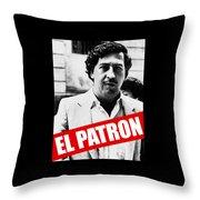 Pablo Escobar Throw Pillow