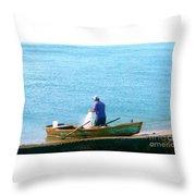 Pescador Throw Pillow