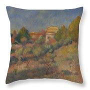 Pierre Auguste Renoir  Throw Pillow