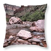 Salt River Canyon Arizona Throw Pillow