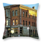 See You Later Commutator Throw Pillow
