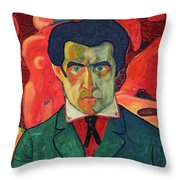 Self Portrait, 1910 Throw Pillow
