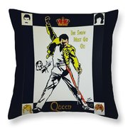 Show Must Go On Throw Pillow