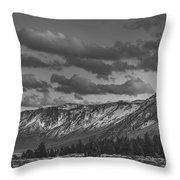 Somewhere In California Throw Pillow
