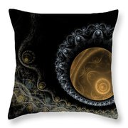 Somewhere In The Universe-2 Throw Pillow