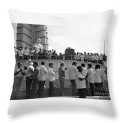 Jose Marti Memorial Throw Pillow