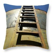 Steps To The Sun Throw Pillow
