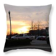 Sunset 7 Throw Pillow