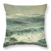 The Roaring Forties  Throw Pillow
