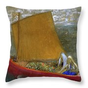 The Yellow Sail, 1905 Throw Pillow