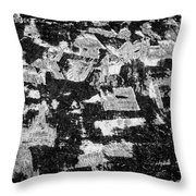 Untitled Ix Bw Throw Pillow by David Gordon