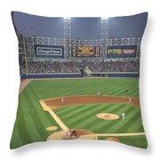 Usa, Illinois, Chicago, White Sox Throw Pillow