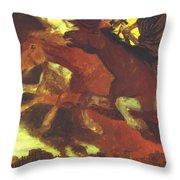 War 1896  Throw Pillow