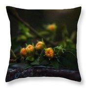 Wildflower Bouquet  Throw Pillow