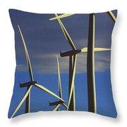 Wind Power Art  Throw Pillow