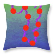 11-6-2015dabcdefghijklmnopqrtuvwxyzabcde Throw Pillow