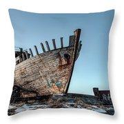 Akranes - Iceland Throw Pillow