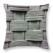 Fabric Background Throw Pillow