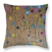 Kintu And Nambi Kintus Tasks Throw Pillow