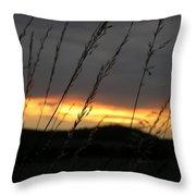 Photograph Of A Sunset Throw Pillow