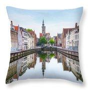 Brugge - Belgium Throw Pillow