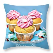 15 Eat Me Now  Throw Pillow