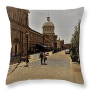 Old Montreal Throw Pillow