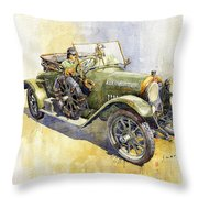 1916 Praga Mignon Throw Pillow