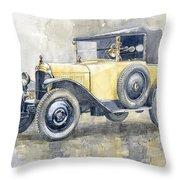 1925 Citroen 5cv Throw Pillow