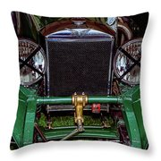 1930's Invicta Roadster In Colour Throw Pillow