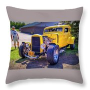 1931 Ford Model A 5 Window Coupe Throw Pillow