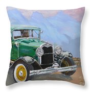 1932 Ford Model A  Throw Pillow